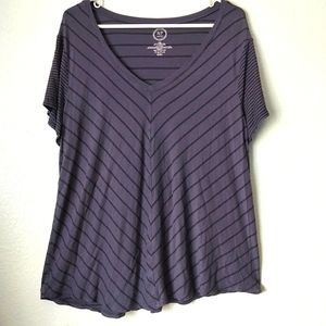 Maurices 24/7 Top Womens XXL Purple